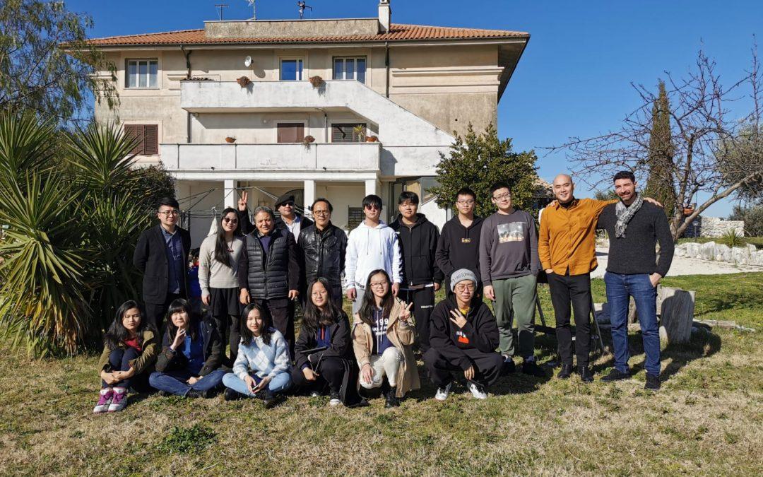 Winter School con gli studenti di Pechino.